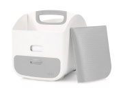 Ubbi Nappy and Wipes Storage Caddy with Changing Mat