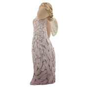 """More Than Words"""" Collectible Angel Figurine- Angel of Heaven, 15cm Tall Resin Sculpture- Express ways to Heal, Comfort, Protect and Inspire your Loved Ones with this Beautiful Gift"""