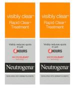 2x Neutrogena Visibly Clear Rapid Clear Spot Treatment 15ml