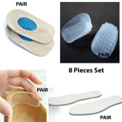 Pedimend Medicated METATARSAL RELIEF PACK - Foot Care Pack - Foot Cushions, Callus, Corns, Sore Relief Pads - Heavy Duty Heel Pads - Gel Heel Relief Pads - Fabric Heel Relief Insoles - Foot Protection Insoles