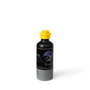 LEGO Batman Drinking Bottle with Cup, Water Bottle, 350 ml, Black