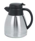 Trudeau Lyra 1010ml Stainless Steel Carafe by Trudeau