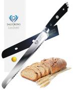 "DALSTRONG Bread Knife - Gladiator Series - German HC Steel - 10"""