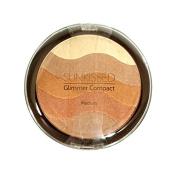 SUNKissed Glimmer Compact Medium Bronzing Powder 19.5 g