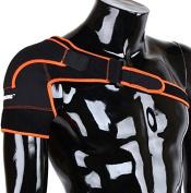 ZJchao Lightweight Adjustable Gym Sport Shoulder Brace for Men & Women