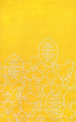 notNeutral Seasons Rug, White/Canary Yellow, 1.5m by 2.4m