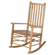 Hinkle Chair Company Alexander Mid-Sized Adult Rocking Chair, Maple