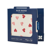 Blue Badge Company Emma Bridgewater Disabled Parking Permit Cover Hologram-Safe Hearts Display Wallet