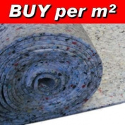 eXtreme® CARPET UNDERLAY LUXURY 10mm-Pu Foam 10mm Thick Carpet Underlay- SOLD BY SQUARE M2