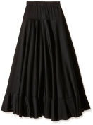 Happy Dance 147 - Children flamenco skirt, black colour, size 12