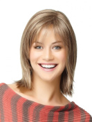 Shoulder Length Women Wigs with Bangs Synthetic Wig for Daily Use