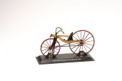 Miniature Bicycle Diecast. Model Macmillan Treadle Driven Bicycle 1840 - 1/15 Scale bic005