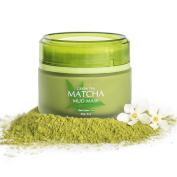 Best Green Tea Matcha Mud Mask, 100% All Natural, 85g/ 90ml, Reduces Wrinkles, Nourishing, Moisturising, Improves Overall Complexion, Antioxidant, Skin Lightning And Anti Ageing