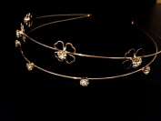 2 Layer Gold Silver Headband :SP3