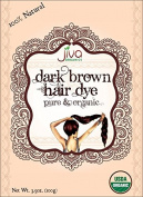 Jiva USDA Organic Dark Brown Hair Dye 100 Gramme - Chemical Free & Ecocert Certified