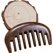 hair comb Wood hair detangler brush -Anti Static Sandalwood Scent handmad with gift package