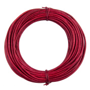 Xsotica Round Leather Cord 1.5mm Natural Dye Hot Pink (10 metres
