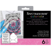 Colorista by Spectrum Noir Marker Card Making Kit, Eastern Promise