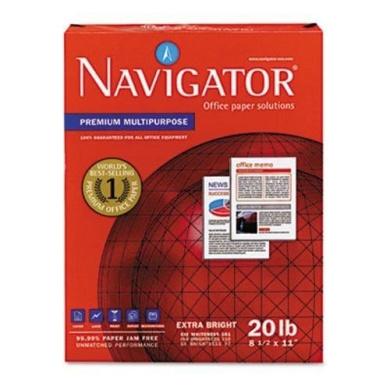 Navigator Premium Multipurpose Paper, 97 Brightness, 5000Sheets (SNANMP1120) ##clean-it-supply