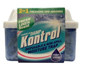 Kontrol Mini Fresh Linen Scent Moisture Absorber Trap Absorbs up to 100ml