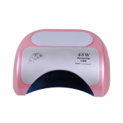 Biutee Professional 48W CCFL LED UV Lamp Nail Dryer For Nail Gel Polish Curing Nails Lamp Dryers Art Manicure Automatic sensor
