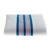 Baby Blankets, Pink and Blue Stripes, 12 Pack