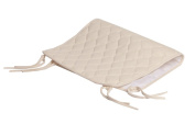 American Baby Company Natural Waterproof Quilted Sheet Saver made with Organic Cotton