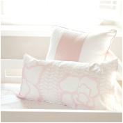 Oilo 30cm X 60cm Capri Pillow, Blush