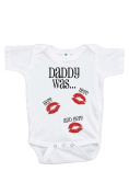 Custom Party Shop Baby's Daddy Was Here Valentine's Day Onepiece