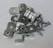 0.6cm Canvas Offset Clips With Screws 10 Pack