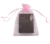 """SUNGULF 100pcs Organza Pouch Bag Drawstring 5""""x7"""" 13x18cm Strong Gift Candy Bag Jewellery Party Wedding Favour"""