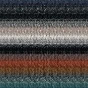 Noro Silk Garden Lite, 2162 - Ash-Teal-Cooper-Black-Midnight
