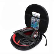 Kemilove Carrying Hard Case Storage Bag Box For Sony Headset Earphone Headphone