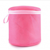Kemilove Women Bra Laundry Lingerie Washing Hosiery Saver Protect Mesh Round Bag