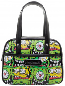 Sourpuss Fink Faces Mini Bowler Purse