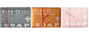Barr Co Trio Soap Sampler Honeysuckle - Sugar & Cream - Blood Orange Amber