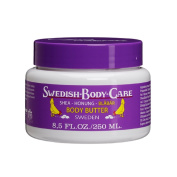 Victoria Soaps of Sweden Swedish Body Care Shea Butter, Honey and Blueberry, 8.5 Fluid Ounce
