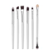 Mosunx(TM) 6Pcs Cosmetic Eyebrow Eyeshadow Brush Set