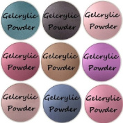 SHEBA NAILS Gelcrylic Powder CROWN JEWELS SAMPLER KIT