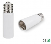 E-Simpo 2-pack E40 to E40 Adapter, E40 to E40 Extender, Extend E40 Lamp in recessed fixture, E40 to E40 Lamp Base Converter,PBT, Z1132