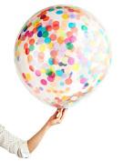 Confetti Balloon Jumbo Latex Balloon Filled with Multicolor Confetti