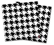 WraptorSkinz Vinyl Craft Cutter Designer 12x12 Sheets Houndstooth Black and White - 2 Pack