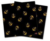 WraptorSkinz Vinyl Craft Cutter Designer 12x12 Sheets Anchors Away Black - 2 Pack