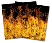 WraptorSkinz Vinyl Craft Cutter Designer 12x12 Sheets Open Fire - 2 Pack