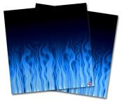 WraptorSkinz Vinyl Craft Cutter Designer 12x12 Sheets Fire Blue - 2 Pack