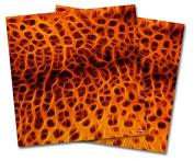 WraptorSkinz Vinyl Craft Cutter Designer 12x12 Sheets Fractal Fur Cheetah - 2 Pack