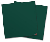 WraptorSkinz Vinyl Craft Cutter Designer 12x12 Sheets Solids Collection Hunter Green - 2 Pack