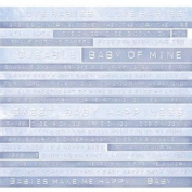 12x12 Scrapbook Paper BOY Word Stripes - 4 Sheets
