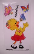 Suzy Zoo Suzy Ducken with Butterflies Sticker