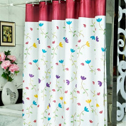 Adwaita No Mildew Shower Curtain Liner Terylene